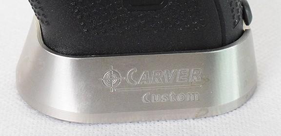 Gen 3 CARVER G20/21 SS Magwell 5.9 oz  For Glocks