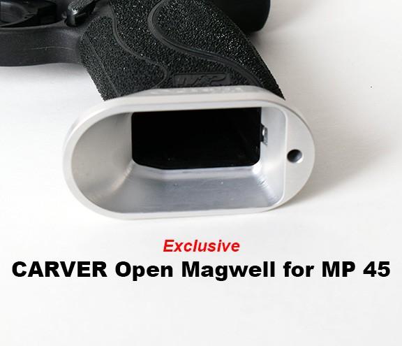 CARVER M&P 45 1.0 Model Alum Open Magwell