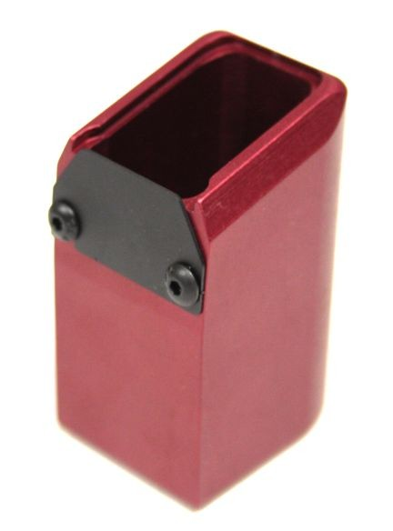 TF 170mm M&P Mag Ext (9MM/.40 Cal)-Red