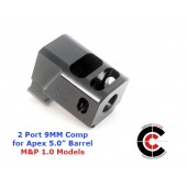"CARVER 2 Port Comp for 1.0 M&P APEX 5.0"" (9MM)"