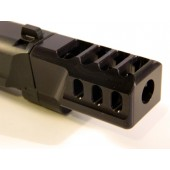"CARVER 4 Port Comp for 1.0 M&P KKM 4.25"" (9MM Major)"