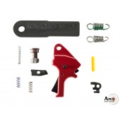 Apex Flat-Faced Forward Set Trigger Kit for the M&P M2.0 - Red