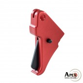 Apex Flat-Faced Action Enhancement Red Trigger for M&P Shield