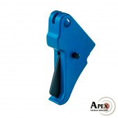 Apex Flat-Faced Action Enhancement Blue Trigger for M&P Shield