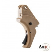 Apex Polymer SD AE Trigger FDE w/Black Safety (Apex)