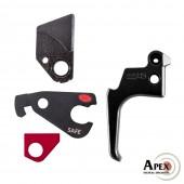Apex Action Enhancement Kit for Ruger Mk IV 22/45 - Black