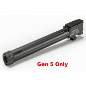 AW Barrel M/34 for Glock Gen 5  9MM (1/2 x 28 Threads)