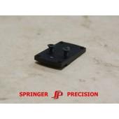 "Springer Precision XD/XDM 4.50"" Dr/Burris/Venom/Viper/RMR Dovetail Mount"
