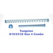 CARVER Tungsten Uncaptured Gen 4 G19/23/32 Guiderod Combo
