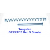 CARVER Tungsten Uncaptured Gen 3 G19/23/32 Guiderod Combo