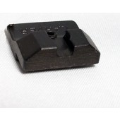 CARVER Custom Rear Sight for Glock (Serrated)